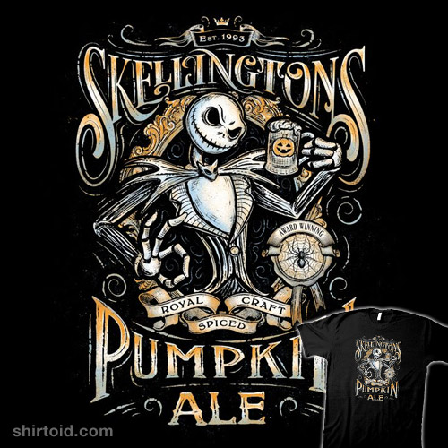 Skellingtons Craft Pumpkin Ale