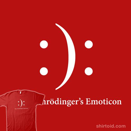 Schrödinger's Emoticon