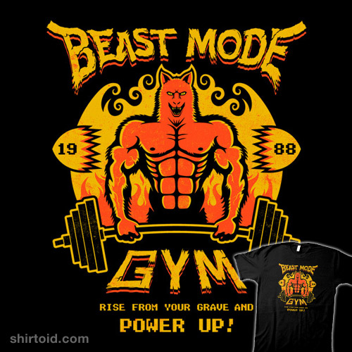beast mode gym shirtoid