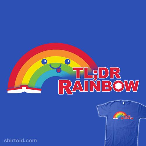 Didn't Read It Rainbow