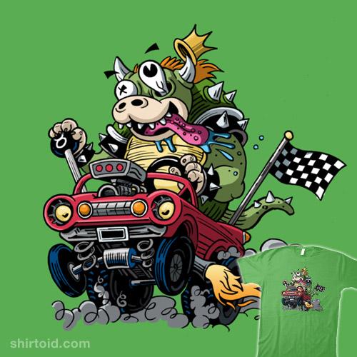 Sofa King Fast Racing: Fast And Furious Koopa