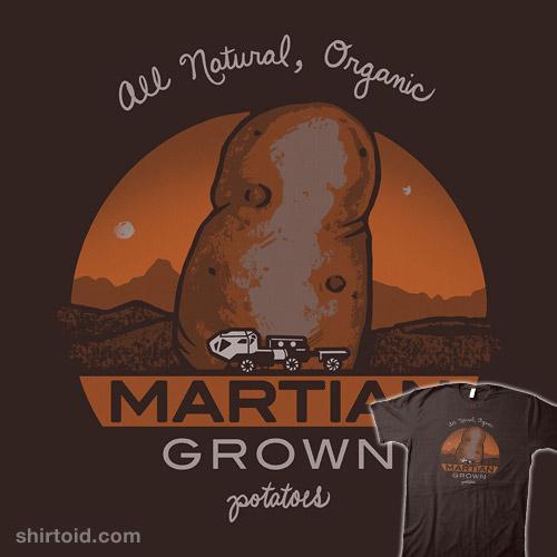 Martian Grown Potatoes