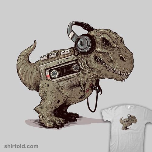 Tyrannosaurus Walkman