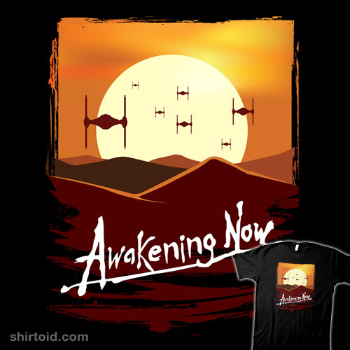 Awakening Now – TIE FIGHTERS