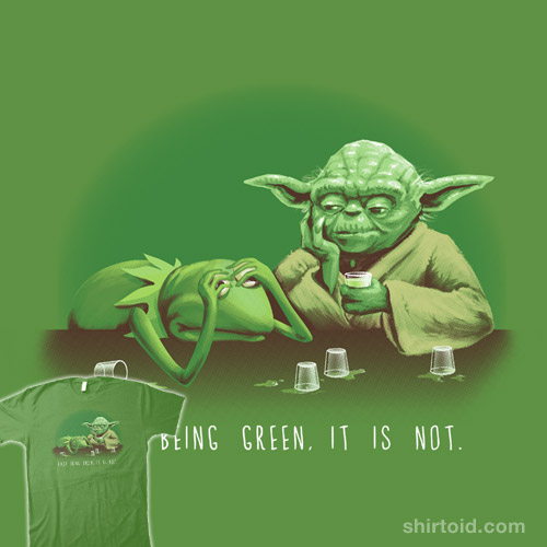 Not Easy Being Green