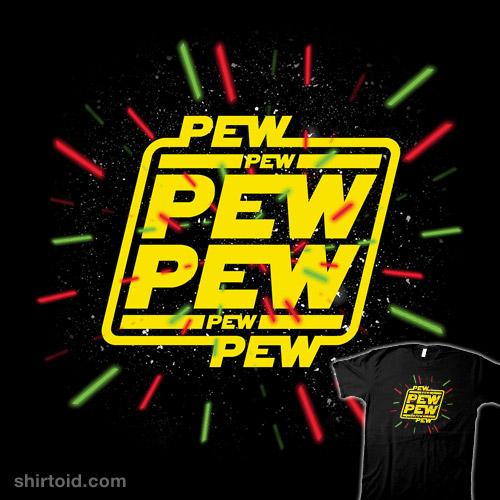 Pew Pew Pew Lasers