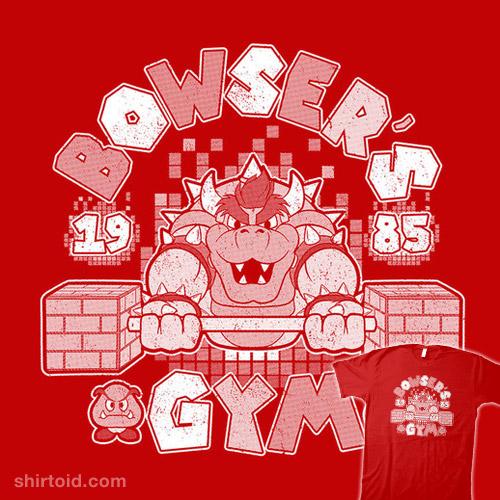 Bowser's Gym