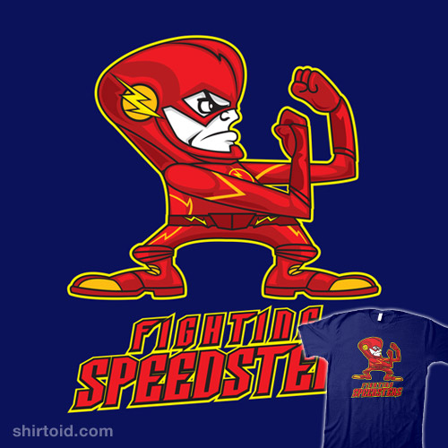FIGHTING SPEEDSTERS – THE FLASH