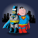 BatHomer vs. SuperGriffin
