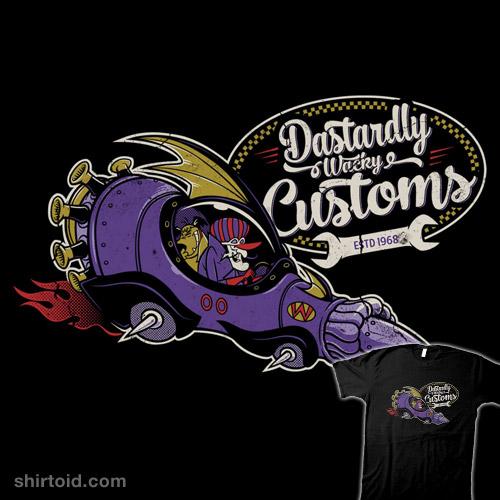 Dastardly Wacky Customs