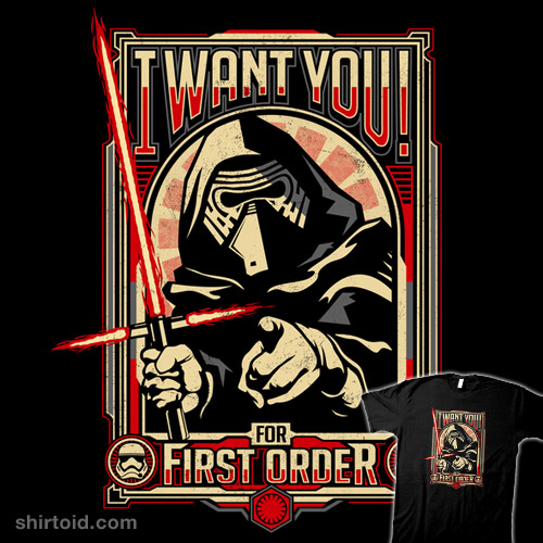 I Want You For First Order