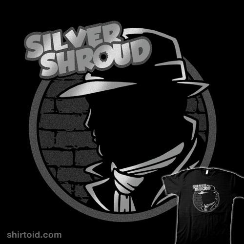 The Silver Shroud!