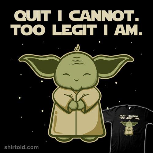 Too Legit I Am