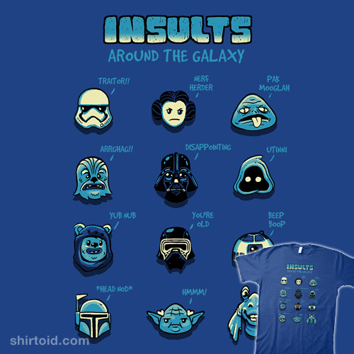 Insults Around The Galaxy
