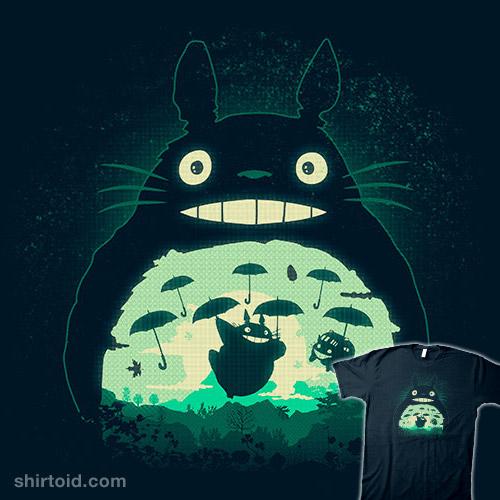 Totoro and His Umbrella