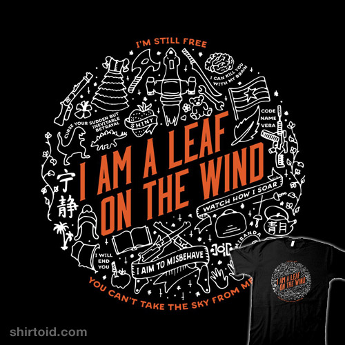 A Leaf on the Wind