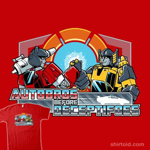 Autobros Before Deceptifoes
