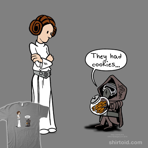 Dark Side Cookies