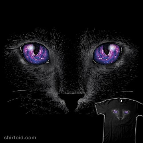 Galaxy Cat Shirtoid