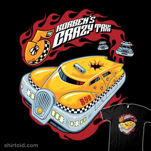 Korben's Crazy Taxi