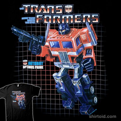 Optimus Prime Box Art