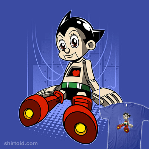 I'm a real Astro Boy!