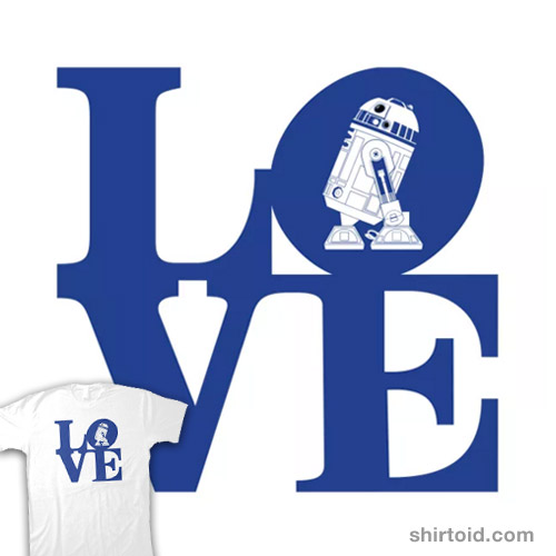 Droid Love – Blue