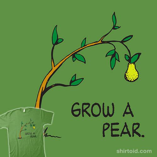 Pear Propagation