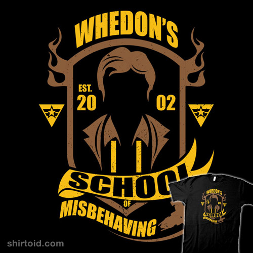 Whedon's School of Misbehaving
