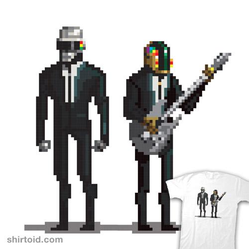 Daft Punk Pixelated