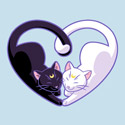 Moon Kitty Love