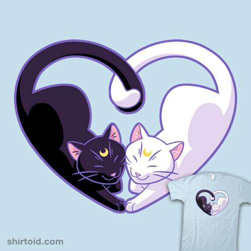 Moon Kitty Love