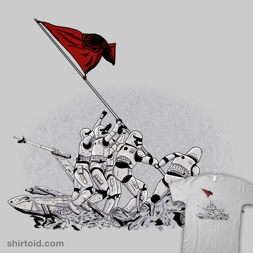 Raising the Flag at Jakku