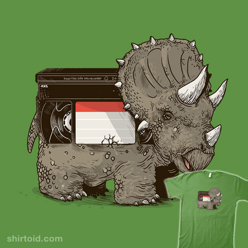 VHS Triceratops