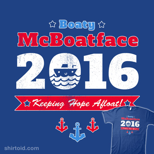 Vote for Boaty!