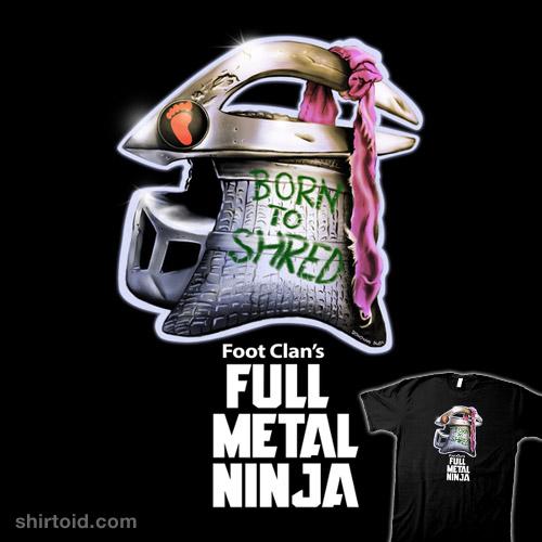 Full Metal Ninja Villain