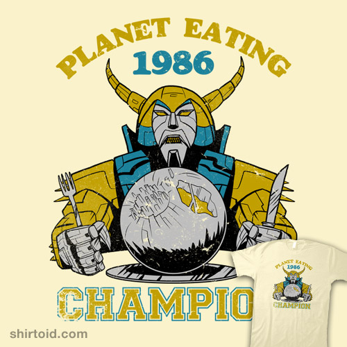 Planet Eating Champion