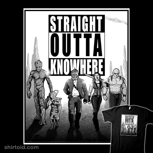 Straight Outta Knowhere | Shirtoid