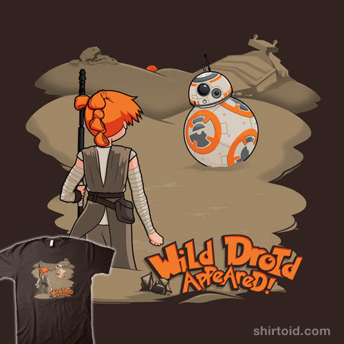 Wild Droid Appeared
