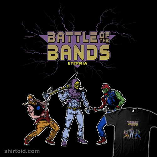 Battle of the Bands – Eternia Edition