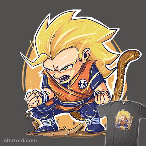Dragon Ball Super Manga 8: Goku Super Saiyan 3 Chibi