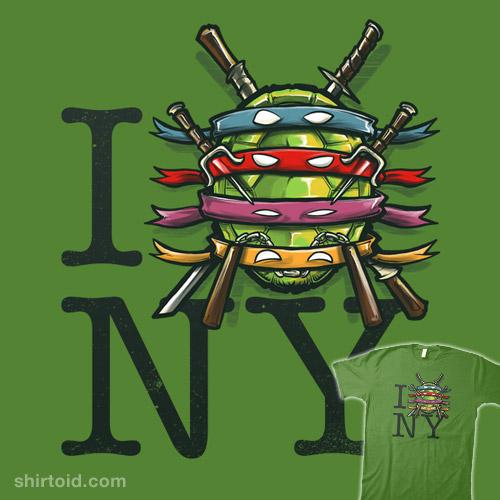 I (Turtle) NY