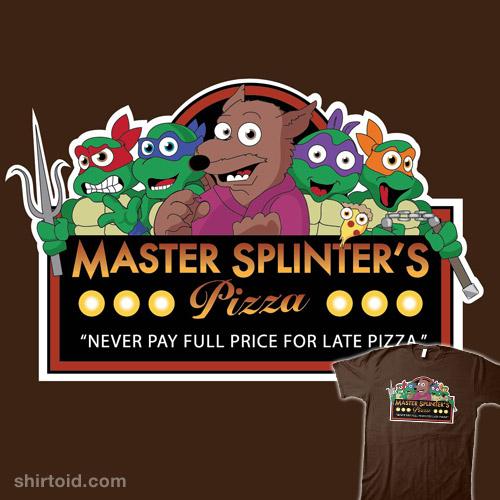 Master Splinter's Pizza