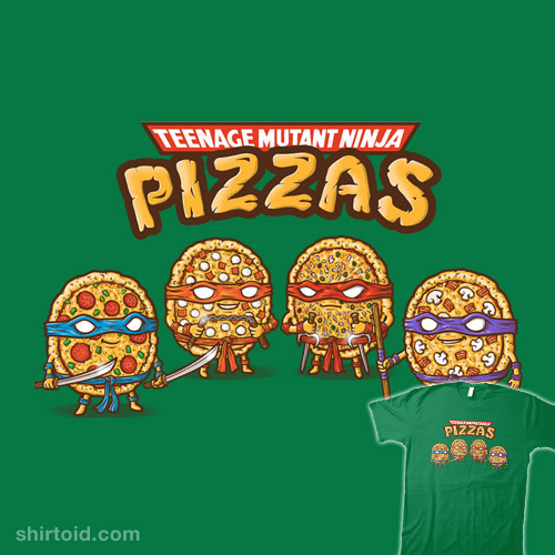 Ninja Pizzas