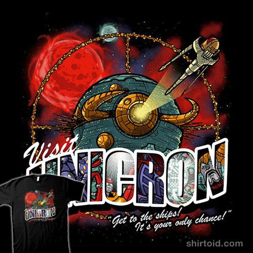 Visit Unicron