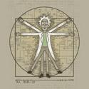 Vitruvian Rick