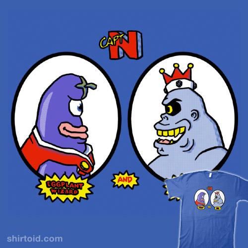 Eggplant Wizard & King Hippo