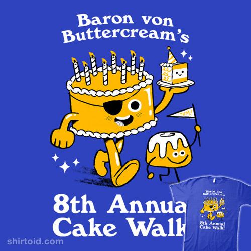 8th Annual Cake Walk