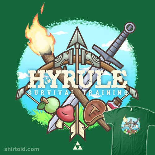 Hyrule Survival Training