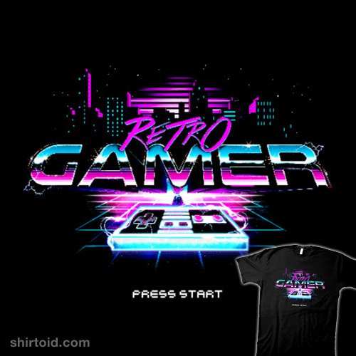Retro Gamer Press Start